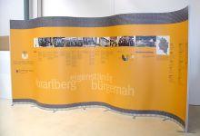 Vorarlberger Landtag Präsentationswand