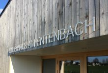 Kindergarten Entenbach – Alubuchstaben 10mm