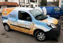 Ölz Meisterbäcker – Vollfolierung Renault E-Kangoo