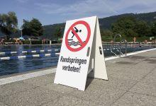 Aufsteller – Strandbad Bregenz