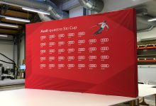 Audi Quattro Ski Cup – Textilpopupwand