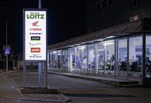 2Rad Loitz Leuchtpylon