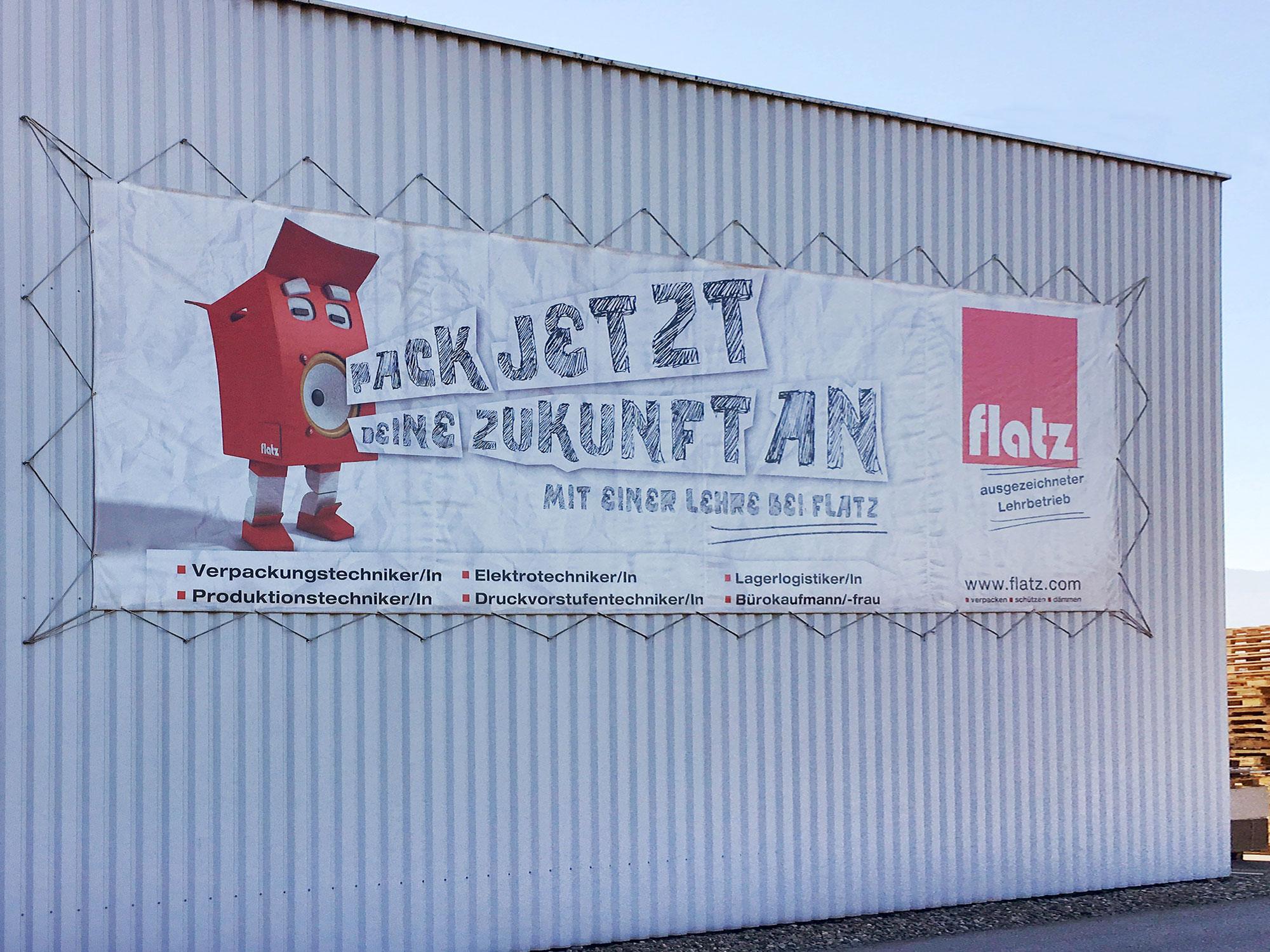 Banner / Transparente Archives - Mader Werbetechnik Lauterach
