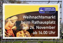 Werbetransparent Wirtschaftsverein Lauterach