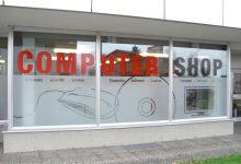 Schaufensterbeklebung Pircher Enterpreis